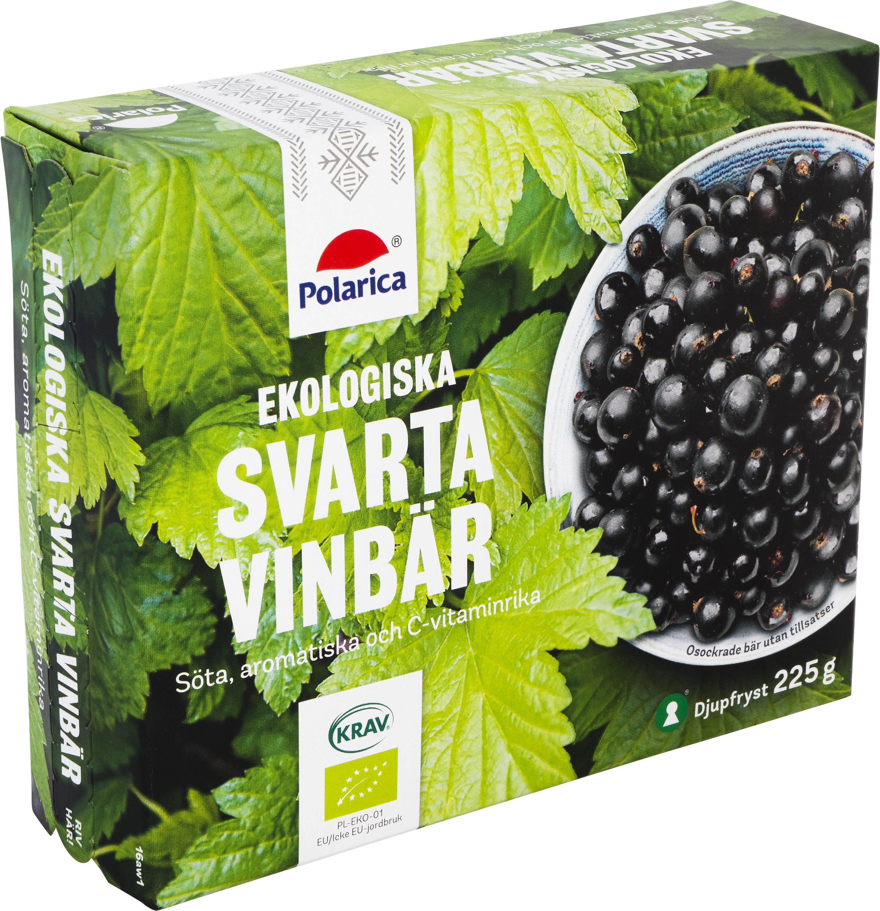 Ekologiska svarta vinbär