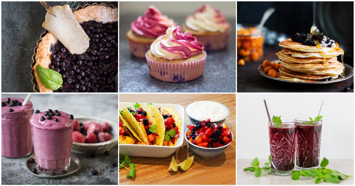 Hitta inspiration för blåbärstiden i Polaricas recept
