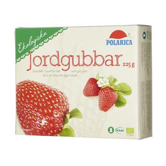 Ekologiska jordgubbar
